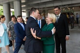 Viorica Dăncilă, două gafe la întâlnirea cu premierul Estoniei. Cum a taxat Juri Ratas situația