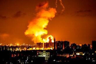 """Israelul a atacat Fâșia Gaza, ca răspuns la """"zmeiele incendiare și baloanele teroriste"""""""