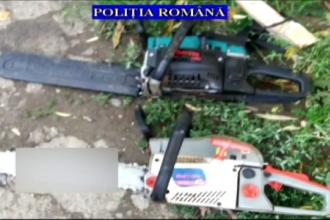 Bărbați din Prahova, suspectați că și-au jefuit vecinii. Le furau motocoasele și polizoarele