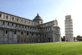 Secretul turnului din Pisa. Cum a rezistat la cele mai mari cutremure