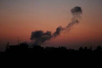 Armata israeliană a atacat Fâşia Gaza.