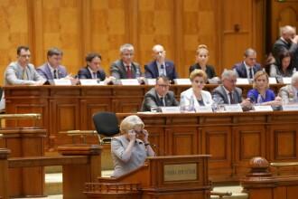 """Moţiunea de cenzură, depusă la Parlament: """"Acest Guvern ruşinos este un dezastru pentru România"""""""