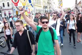 """Proteste în Cluj și Sibiu, după modificările aduse Codului de Procedura Penală. """"M-am săturat"""""""