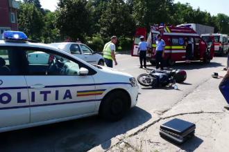 Cetățean italian rănit într-un accident rutier, la Curtea de Argeș