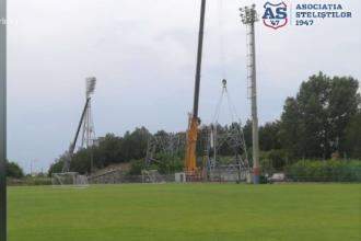 Demolările stadionului Ghencea au început. Muncitorii nu garantează că va fi gata până la Euro 2020