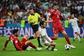 Cupa mondială 2018. Spania a învins la limită Iranul, cu scorul de 1 - 0