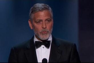 Surpriză pentru George Clooney, în timpul decernării premiului pentru întreaga carieră