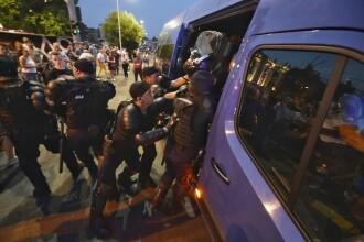PNL cere demisia celor care au autorizat folosirea violenţei împotriva protestatarilor