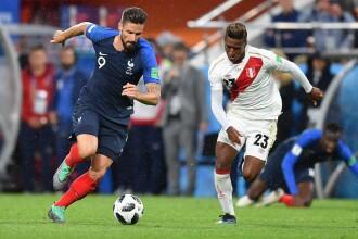 Cupa mondială 2018. Franţa, calificată în optimi, după o victoria cu Peru