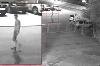 Imagini cu tânărul care a pus o bombă lângă mașina unui angajat ISU