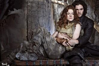 """Kit Harington şi Rose Leslie - Jon Snow şi Ygritte din """"Game of Thrones"""" - s-au căsătorit"""