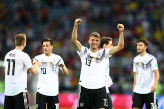 Cupa Mondială 2018. Germania, victorie în ultimele secunde cu Suedia, scor 2-1