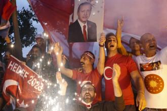 Rezultatele parțiale ale alegerilor din Turcia. Recep Erdogan a obținut 53% dintre voturi