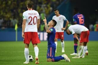 Cupa mondială 2018. Polonia, învinsă de Columbia cu 3 - 0 și eliminată din competiție