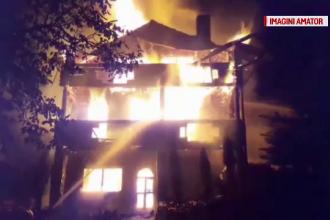 Un televizor lăsat în priză a provocat un incendiu devastator