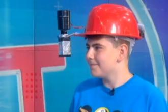 iLikeIT. Andrei a inventat, la 12 ani, un dispozitiv de realitate augmentată. Cum funcționează