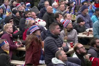 Nunţi şi înmormântări amânate, în Islanda, de ultimul meci al naționalei de la Cupa Mondială