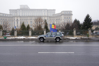 Zona Parlamentului, împânzită de poliție și jandarmi. Restricții în ziua votului moţiunii de cenzură