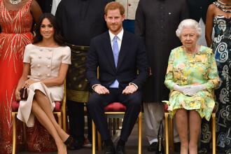 Anunţul neaşteptat al reginei Elisabeta. Ce soluţie are pentru Harry şi Meghan