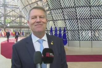 """Iohannis, la Bruxelles: """"Numărul de migranți care tranzitează România este unul rezonabil"""""""