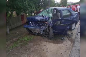 Două persoane au murit din cauza unui șofer băut din Olt. Accidentul a fost LIVE pe Facebook