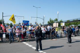 Protest cu 5.000 de persoane, împotriva partidului de extremă dreapta din Germania