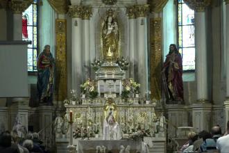 Papa va vizita biserica unde statuia Fecioarei Maria ar fi vindecat sute de oameni