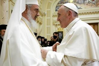 Mesajul publicat pe contul de Instagram al Papei Francisc în timpul vizitei în România