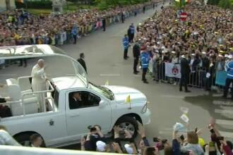 Papa Francisc în România. 150.000 de pelerini au fost alături de Papă, la Iași, în a doua zi a vizitei. VIDEO