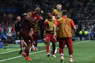 UEFA Champions League. Liverpool a câştigat, scor 2 - 0, Liga Campionilor în finala cu Tottenham