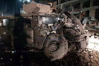 Atentat cu maşină-capcană, atribuit Statului Islamic, chiar în fosta capitală a ISIS