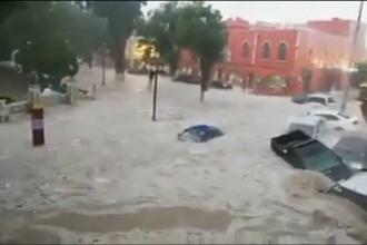 """Un oraș din Mexic """"s-a scufundat"""" , în urma ploilor torențiale. VIDEO"""