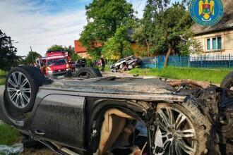 Accident cu un mort, în Satu Mare. Un bărbat a rămas fără mână