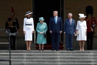 """Melania Trump, apariție în stil """"My Fair Lady"""" în Marea Britanie. GALERIE FOTO"""