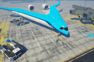 Avionul care ar putea revoluționa cursele aeriene. Ce dotări unice are. VIDEO