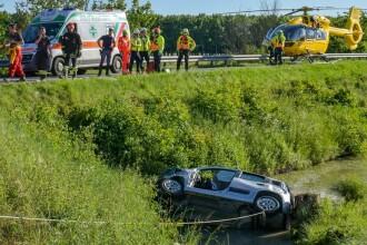 Doi şoferi români, eroi în Italia. Efortul supraomenesc prin care au salvat 2 bătrâni