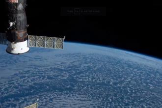 Imagini spectaculoase cu Pământul, surprinse de un astronaut de pe ISS. VIDEO