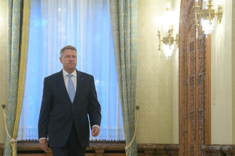 Reacția lui Iohannis, întrebat despre posibilitatea de a prelua şefia Consiliului European