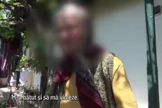 O bătrână povestește cum a fost la un pas să fie violată de fiul ei, care o bătea frecvent