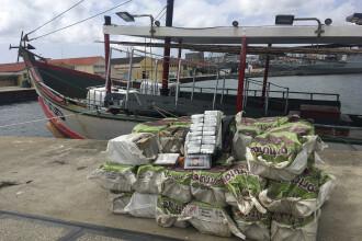 Captură de peste o tonă de cocaină în Portugalia. Cât costau drogurile