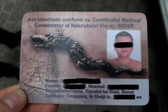 Un şofer din Timişoara s-a legitimat cu un act geto-dac. Ce i-au făcut poliţiştii