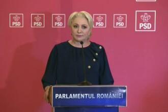 """Cum explică Dăncilă că PSD a făcut scut în jurul lui Tăriceanu: """"Răspund în fața electoratului"""""""