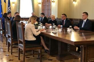 """Consultări la Cotroceni. Dăncilă i-a propus lui Iohannis un """"grup de lucru"""" care să aplice rezultatul referendumului"""