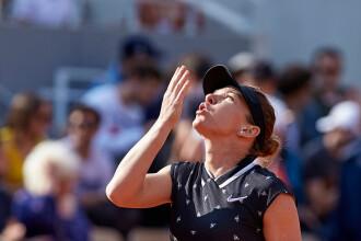 Simona Halep - Amanda Anisimova. Meciul de la Roland Garros, amânat pentru joi, la 13:00
