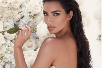 Ținuta purtată de Kim Kardashian la restaurant. Formele sale au atras toate privirile. FOTO