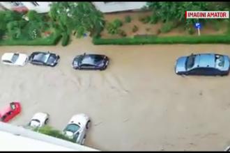 Ploile fac ravagii în țară. Zeci de localități inundate, pompierii depășiți de situație
