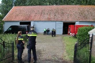 Unul dintre cele mai mari laboratoare de cocaină din Olanda, descoperit din greșeală