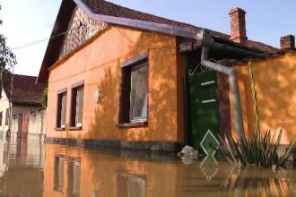 Coșmarul inundațiilor nu s-a încheiat. A fost emis un cod galben de ploi până vineri seară