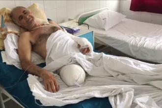 A rămas fără picior după ce a fost atacat de urs. De ce n-a intervenit elicopterul SMURD