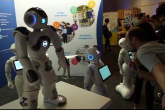 Roboți umanoizi, la cel mai mare târg hi-tech din lume. Avertismentul lui Kasparov